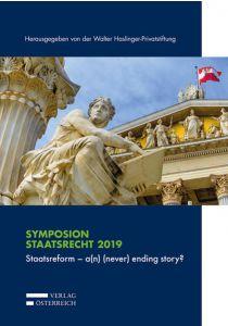 Staatsreform - a(n) (never) ending story?