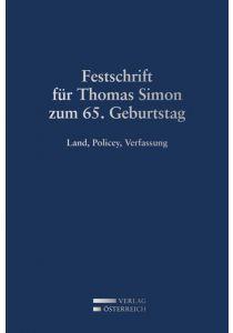 Festschrift für Thomas Simon zum 65. Geburtstag