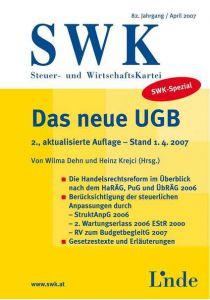 SWK-Spezial Das neue UGB