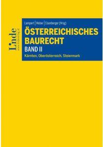 Österreichisches Baurecht Band II