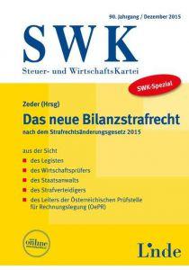 SWK-Spezial Das neue Bilanzstrafrecht