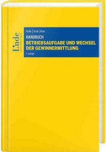 Handbuch Betriebsaufgabe und Wechsel der Gewinnermittlung