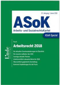 ASoK-Spezial Arbeitsrecht 2018