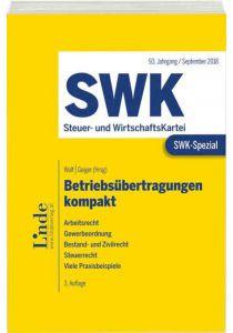 SWK-Spezial Betriebsübertragungen kompakt