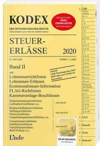 KODEX Steuer-Erlässe 2020, Band II