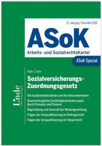 ASoK-Spezial Sozialversicherungs-Zuordnungsgesetz