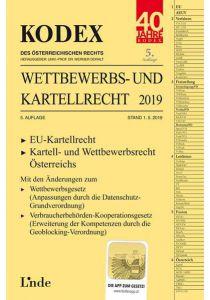 KODEX Wettbewerbs- und Kartellrecht 2019