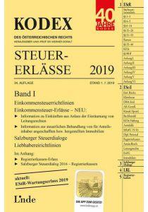 KODEX Steuer-Erlässe 2019 Band I