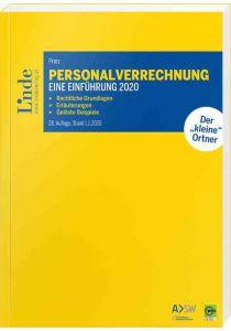 Personalverrechnung: eine Einführung 2020