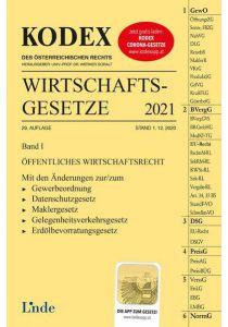 KODEX Wirtschaftsgesetze Band I 2021