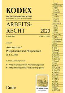 KODEX Arbeitsrecht 2020