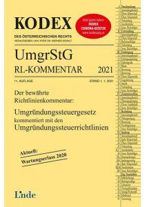 KODEX Umgründungssteuergesetz-Richtlinienkommentar 2021