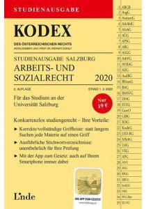 KODEX Studienausgabe Arbeits- und Sozialrecht 2020/21