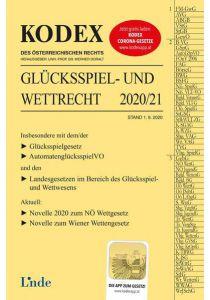 KODEX Glücksspiel- und Wettrecht 2020/21