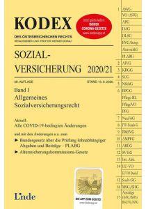 KODEX Sozialversicherung 2020/21, Band I