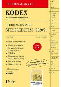 KODEX Studienausgabe Steuergesetze 2020/21