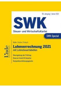 SWK-Spezial Lohnverrechnung 2021