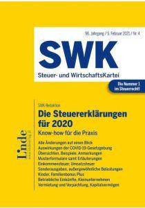 Die Steuererklärungen für 2020