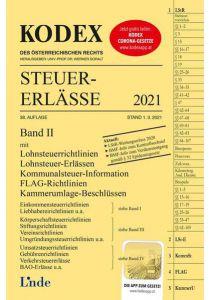 KODEX Steuer-Erlässe 2021, Band II
