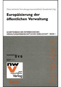 Europäisierung der öffentlichen Verwaltung