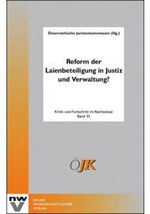 Reform der Laienbeteiligung in Justiz und Verwaltung?