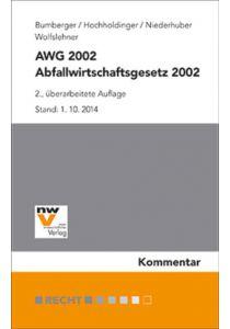 Abfallwirtschaftsgesetz 2002 – AWG 2002