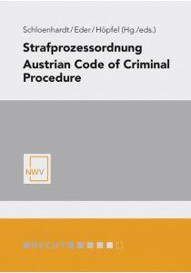Strafprozessordnung/ Austrian Code of Criminal Procedure