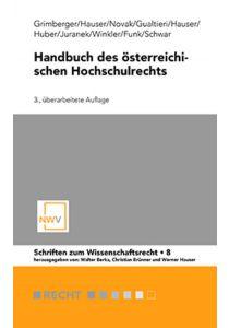 Handbuch des österreichischen Hochschulrechts