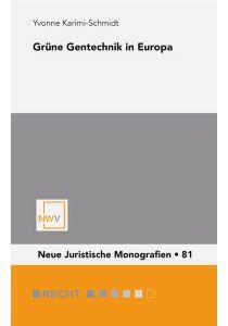 Grüne Gentechnik in Europa