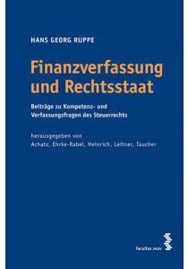 Finanzverfassung und Rechtsstaat