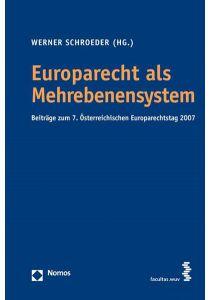 Europarecht als Mehrebenensystem