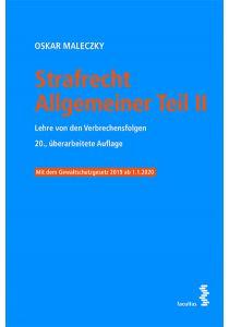 Strafrecht Allgemeiner Teil II