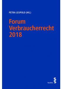 Forum Verbraucherrecht 2018