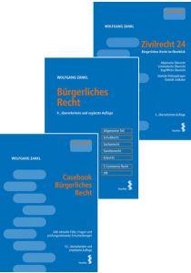 Kombipaket Casebook Bürgerliches Recht, Bürgerliches Recht und Zivilrecht 24