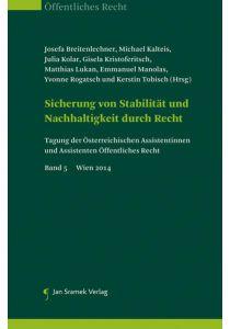 Set-Tagung der österreichischen Assistenten und Assistentinnen Öffentliches Recht