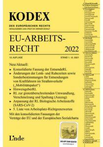 KODEX EU-Arbeitsrecht 2022