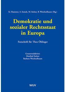 Demokratie und sozialer Rechtsstaat in Europa