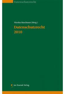 Datenschutzrecht 2010