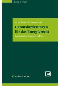 Herausforderungen für das Energierecht