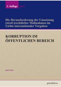 Korruption im öffentlichen Bereich