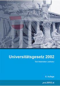 Universitätsgesetz 2002