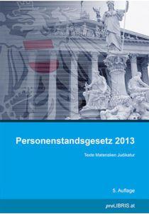 Personenstandsgesetz 2013