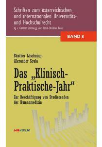 """Das """"Klinisch-Praktische Jahr"""""""