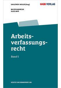 Arbeitsverfassungsrecht Bd 5