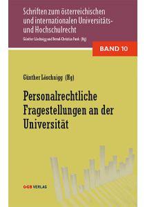 Personalrechtliche Fragestellungen an der Universität